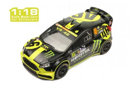 Ford Fiesta RS WRC Monster Rally Monza No.46 2014 Rossi/Cassina
